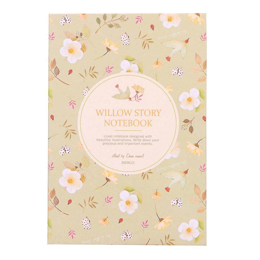 Bunga Burung Saku Notebook Jurnal Kertas Buku Harian Mingguan Planner Bantalan Tulis By Jocestyle Official Store.