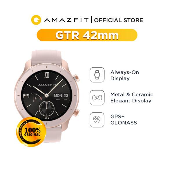 Amazfit GTR 42mm Fitness Smartwatch - Global Version (1 Year Amazfit Malaysia Warranty) Malaysia