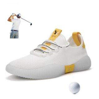 Giày Chơi Gôn Ngoài Trời Cho Nam, Giày Thể Thao Lưới Thoáng Khí, Đèn Dây Buộc Nam Giày Thể Thao Chơi Gôn Giày Thể Thao Ngoài Trời Giày Tập Chơi Golf Nam thumbnail