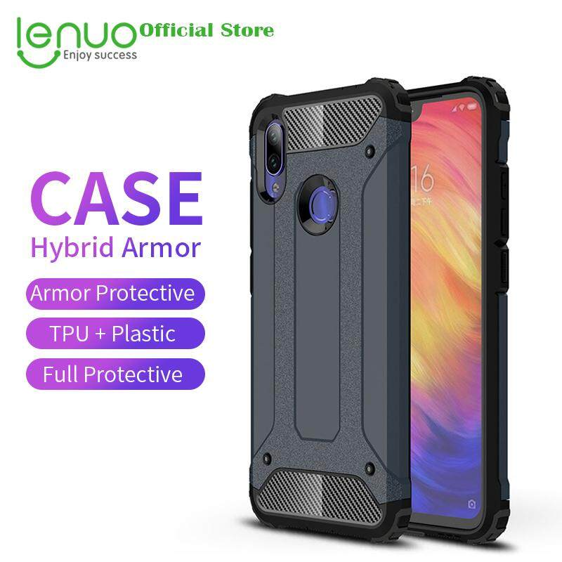 41b8ae8e0c5a Lenuo Case for Xiaomi Redmi Note 7 and Redmi Note 7 Pro Hybrid Shell Armor  Cases Rugged TPU + Hard Plastic Cover Casing for REDMI Note 7 Pro