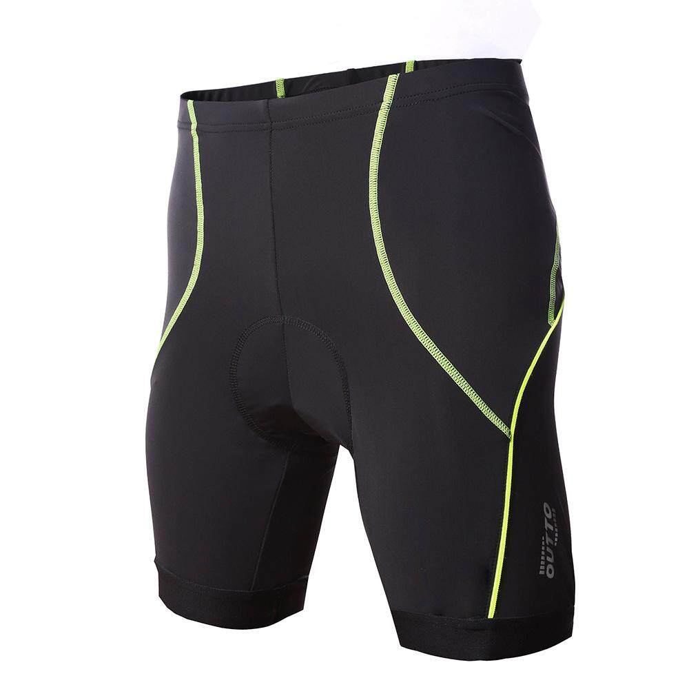 Summer Quick-Drying Mountain Bike Tight Stretch Riding Shorts Breathable Silicone Pad Cycling Pants By Wellsunny.