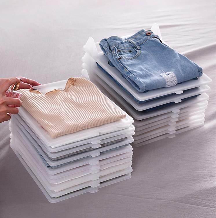 5 clothes board folding clothes artifact T-shirt storage shirt anti-wrinkle wardrobe finishing storage shelf