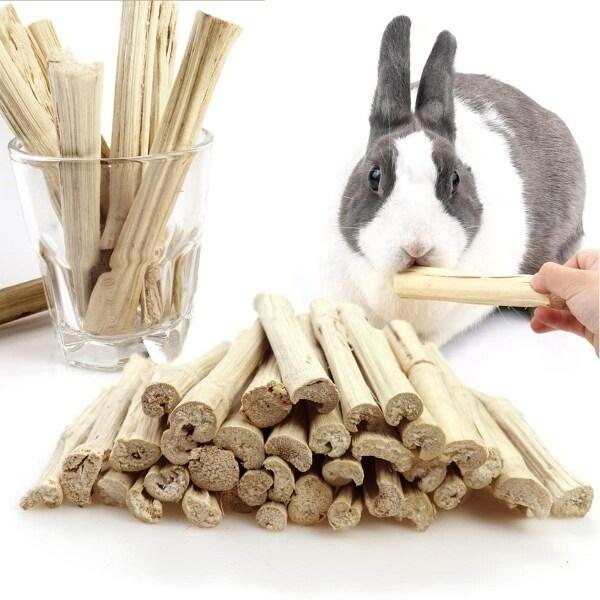 BENEDICT, Chuột Lang, Răng Hàm Chinchilla Làm Sạch Răng Đồ Ăn Nhẹ Cho Thú Cưng Thỏ Sóc Cành Cây Đồ Chơi Nhai Bằng Tre Ngọt Ngào