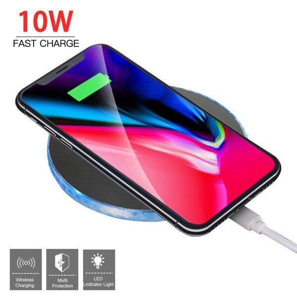 Giá Sạc Không Dây Qi Dành Cho Samsung Galaxy S10 S9/S9+ S8 Note 9 iPhone 11 Pro XS Max XR X 8 Plus