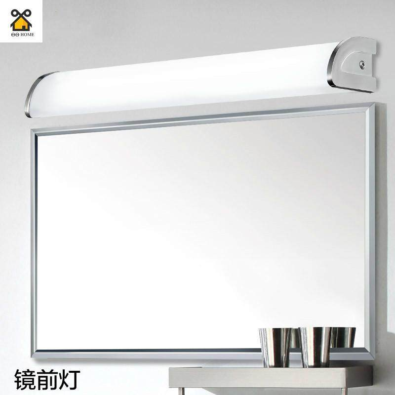 LED Mirror Front Lighting Simple Modern Bathroom Toilet Bathroom Bathroom Wall Mirror Cabinet Dressing Table Lamp