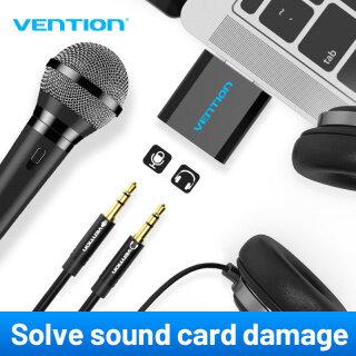 Vention Bộ chuyển đổi thẻ âm thanh nổi USB sang giắc 3.5mm dành cho PC máy tính xách tay PS4 - INTL thumbnail