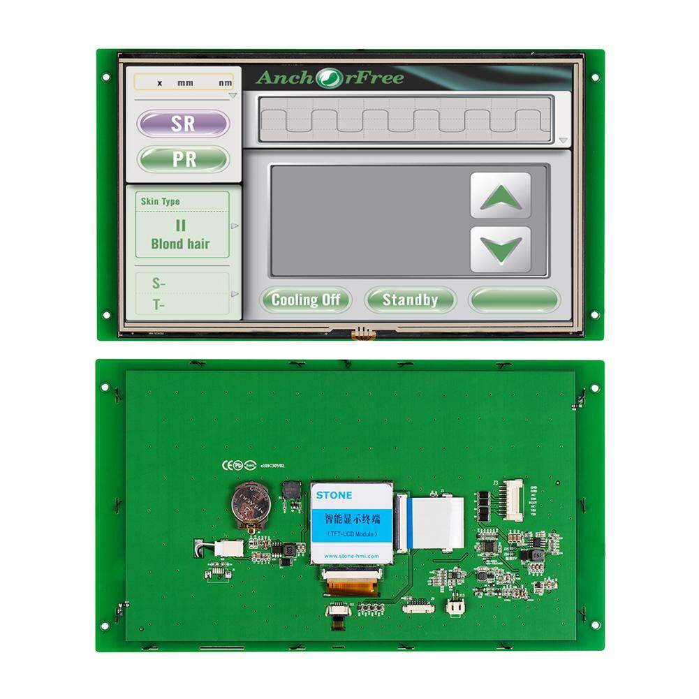 10.1 inch All in One Monitor Display LCD with Controller Board Support ARM/ PIC/ Arduino/ Any MCU