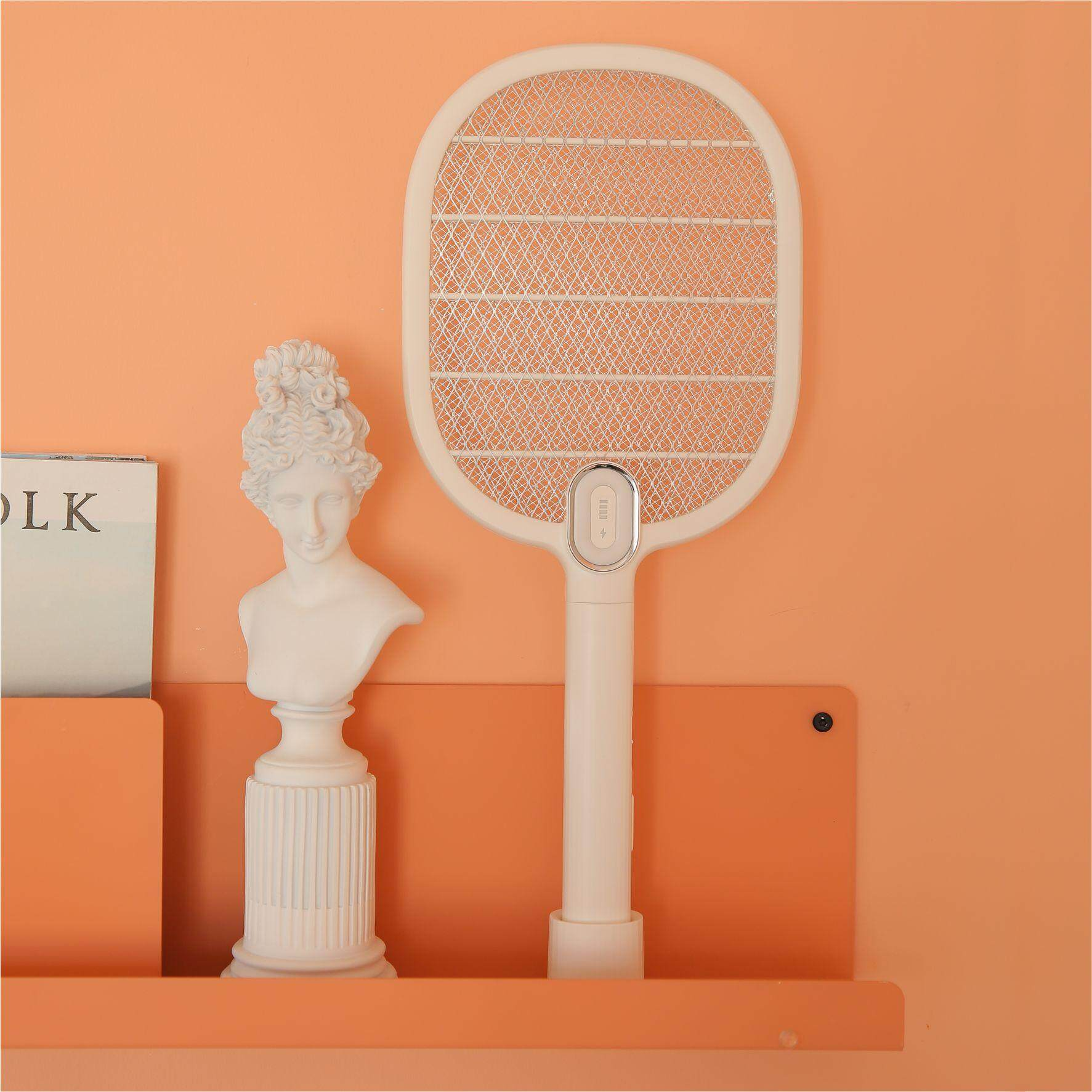 New xiaomi mijia 3 Life Electric Mosquito Swatter Rechargeable LED Electric Insect Bug Fly Mosquito Dispeller Killer Racket 3-Layer Net