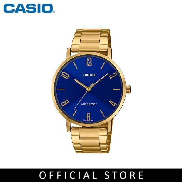 Casio General MTP-VT01G-2B2 Gold Stainless Steel Men Watch Malaysia