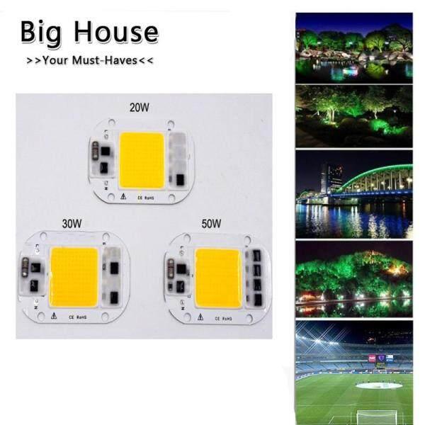 Big House AC 220V 20W/30W/50W Trình Điều Khiển Miễn Phí Áp Suất Cao Chip LED COB Đèn Nguồn