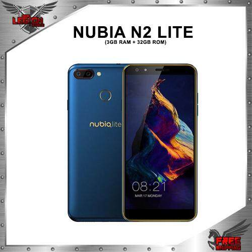 [READY STOCK] Nubia N2 Lite DUAL CAMERA (3GB RAM + 32GB ROM) 1 Year Warranty By Nubia Malaysia!!