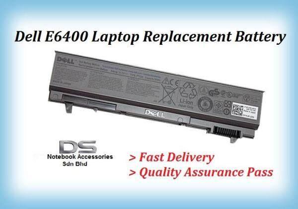 DELL LATITUDE E6400 Notebok Laptop Battery / Dell E6400 Battery Malaysia