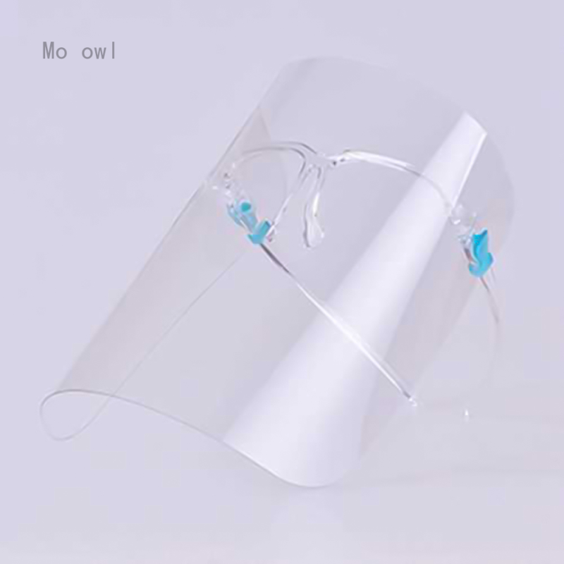 Kitchen Anti Oil Face Plastic Cover Face Shield Protector Grease Proofing Protective Anti Smoke Restaurant Chef Cooking Anti Splatter Screen 1 Pc
