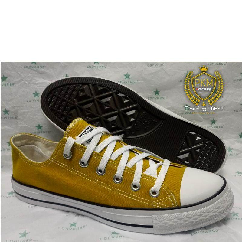 2a8c290671146 READY STOK- KASUT/SHOES CONVERSE CLASSIC ALL STAR LOW TOP - YELLOW MUSTARD