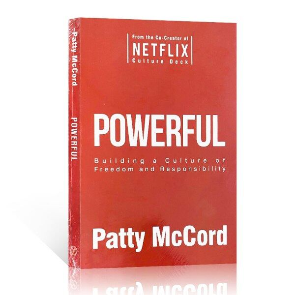 Powerful Patty McCord Missionday CHO English Book Original Business Book Management Book Reading Gifts Malaysia