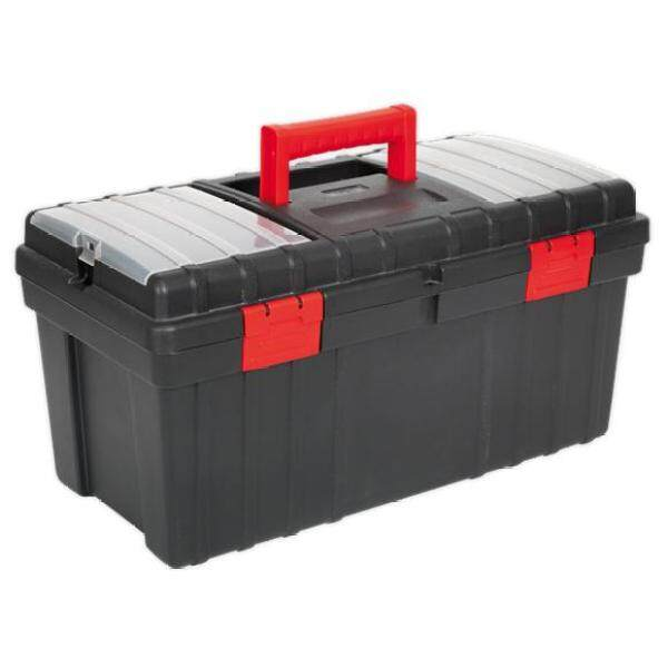 (Pre-order) Sealey Toolbox 490mm with Tote Tray Model: AP490