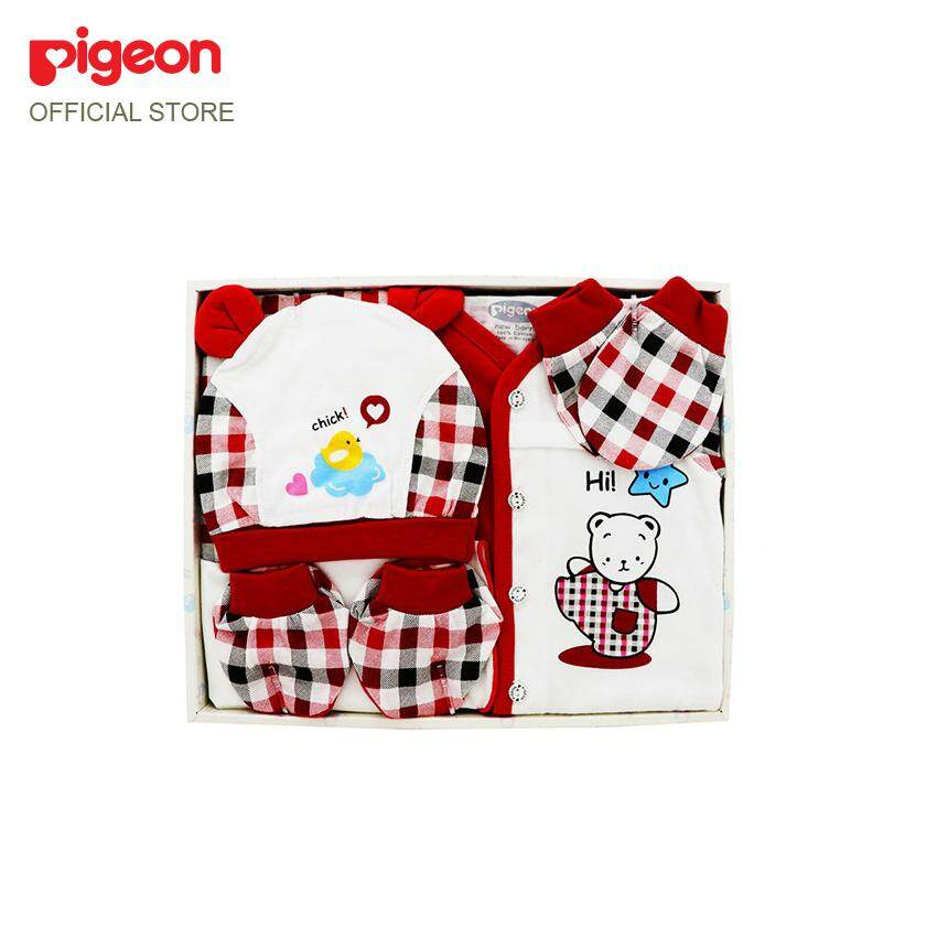 Pigeon Newborn Baby Gift Set - Girl Mm1041(chick) By Pigeon Malaysia