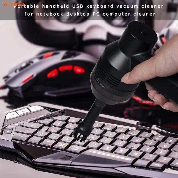 [Tenda] Useful USB Keyboard Vacuum Cleaner Handheld Dust Cleaning Tool for Laptop PC Computer Malaysia