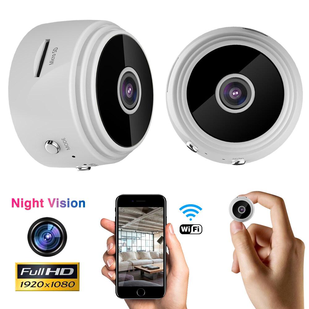 Camera An Ninh IP 1080P HD Không Dây Wifi 3Tech Little Stars Camera Quan Sát Ban Đêm IR Camera Mini CCTV A9