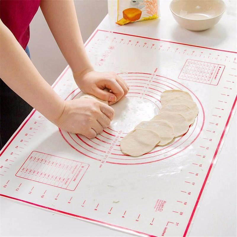 Houseeer Sợi Thủy Tinh Silicon Tấm Lót Nướng Bánh Tấm Lót Làm Bánh Mat Cán Tấm Làm Bánh Ngọt Bột Công Cụ Nướng Bánh Siêu Ưu Đãi tại Lazada