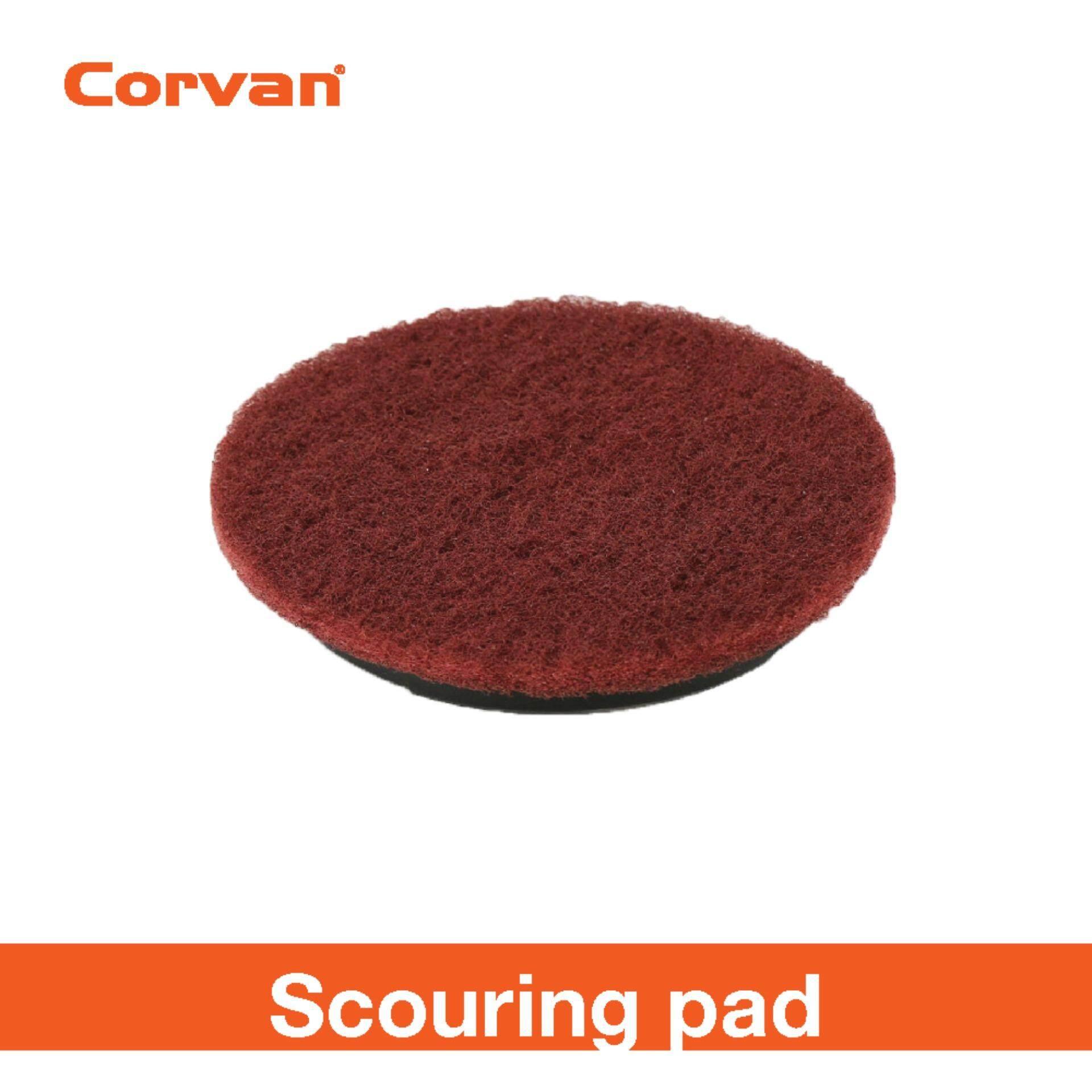 Corvan Power Scrub- Brushes, Pads
