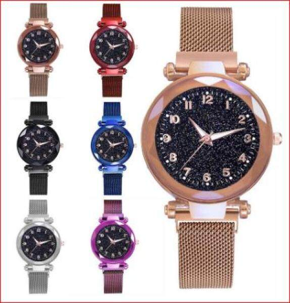 Syurga JT Numberic Magnetic Buckle Stainless Steel Watch Malaysia