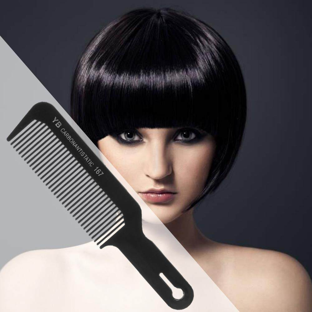 QUESTIONNO〔Low Price & High Quality〕Flat Head Anti-static Hair Comb Cutting Combs for Salon Sectioning Haircut