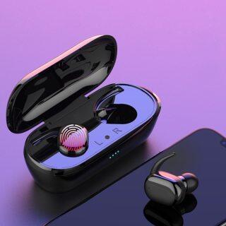 Tai nghe bluetooth 5.0 y30 TWS, tai nghe không dây âm thanh nổi 4D, tai nghe thông minh cảm ứng vân tay, tai nghe chơi game chống ồn thumbnail