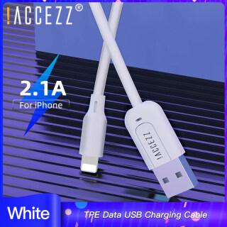 ACCEZZ Cáp sạc nhanh 2.1 dài 0.25m 1m 3m đầu nối chiếu sáng sang USB chất liệu TPE chất lượng cao dùng cho iPhone 11 Pro Max 6 7 8 7Plus X XS XR Ipad Ipod giá tốt - INTL thumbnail