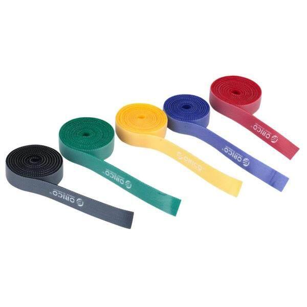 Bảng giá CBT-5S ORICO Chất lượng cao 5 trong 1 màu sắc có thể tái sử dụng và chia móc và vòng dây cáp dính cho cáp dữ liệu/dây nguồn, chiều dài: 1m Phong Vũ