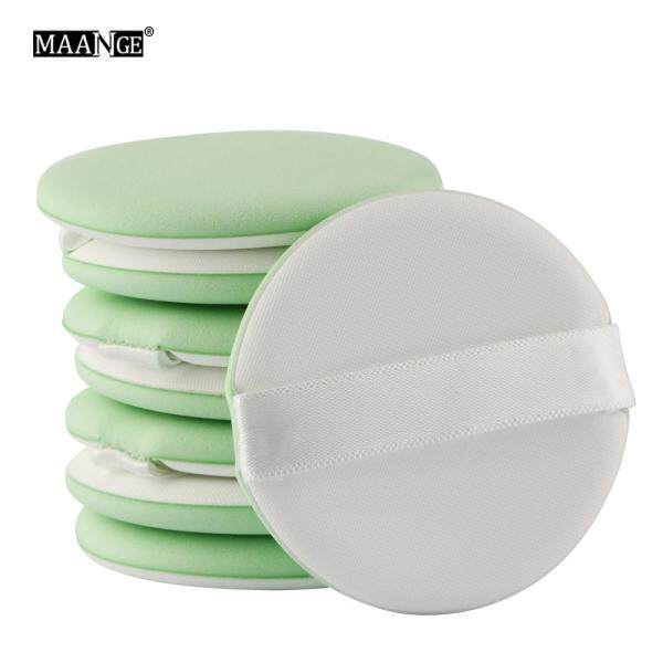 Set 4 mút trang điểm MAANGE hình tròn dùng tán kem nền - INTL giá rẻ