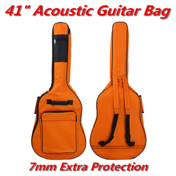 Acoustic Guitar Gig Bag Shoulder Strap 41  Extra 7mm Protection Malaysia