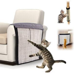 Đệm Bảo Vệ Chống Trầy Xước Cho Mèo Đệm Ghế Sô Pha Đệm Cào Móng Cho Mèo Sisal Thảm Bảo Vệ Đồ Nội Thất thumbnail