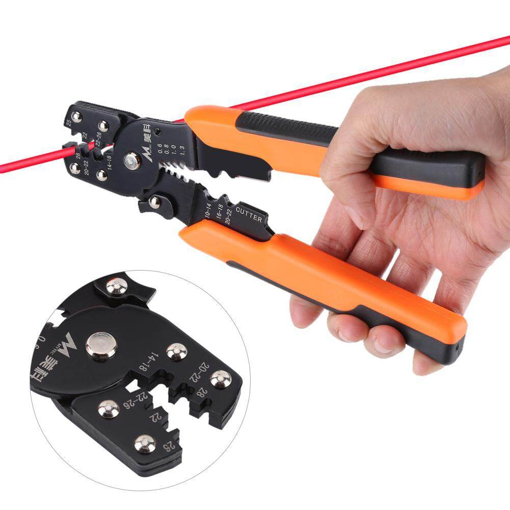 Multi-functional Wire Cable Stripper Stripping Crimping Pliers Electrician Hand Tool