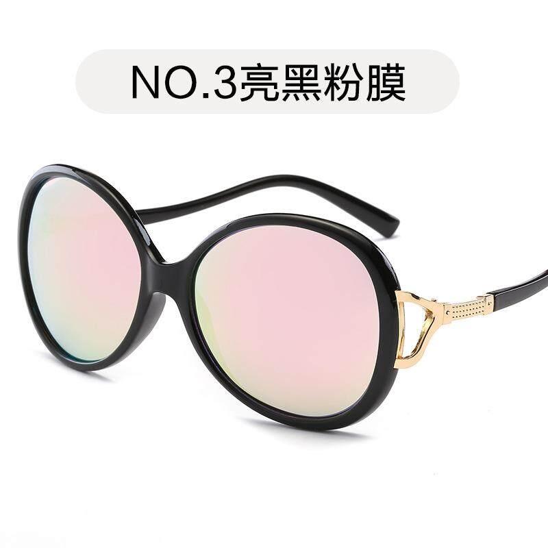 Hindfield Brand New Sunglasses 114 Women's Large Frame Sunglasses Retro Fashion Sunglasses Personality Sunglasses Wholesale
