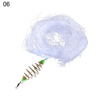 Nylon Cá Net, Lưới Trapper Kim Loại Mùa Xuân Móc Shoal Fishing Lưới, Ngư Cụ Giải Quyết thumbnail