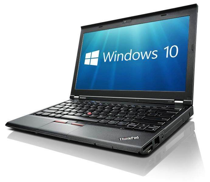 REFURBISHED) LENOVO THINK PAID X230 INTEL CORE i5 3RD GEN/4GB DDR3 /500GB HDD/INTEL HD GRAPHIC/12.5 DISPLAY/W8 PRO Malaysia