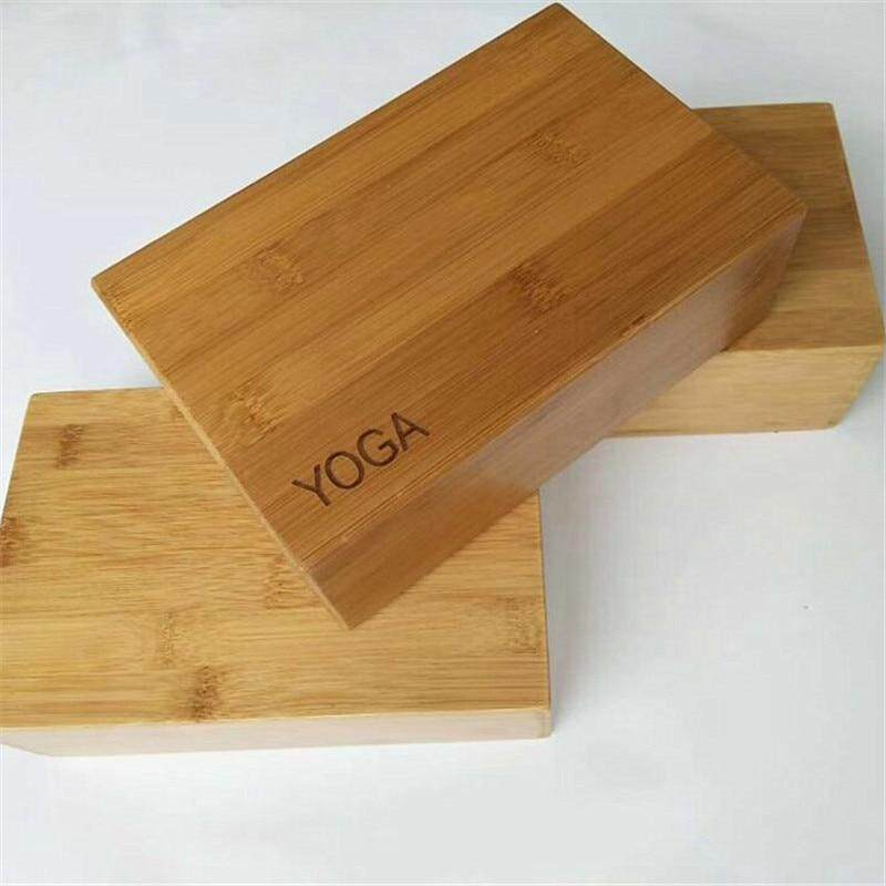 Bảng giá 3*6*9Inch Tre Gỗ Chắc Chắn Tập Yoga Block Con Lăn Xốp Tập Gym Tập Thể Dục Tập Thể Hình Gạch Tập Yoga kích Hoạt Massage Froller