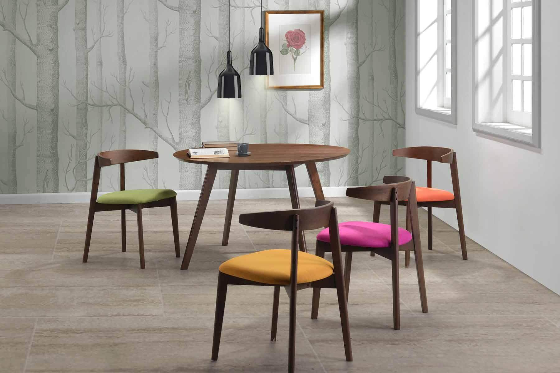Round Dining Table D120cm