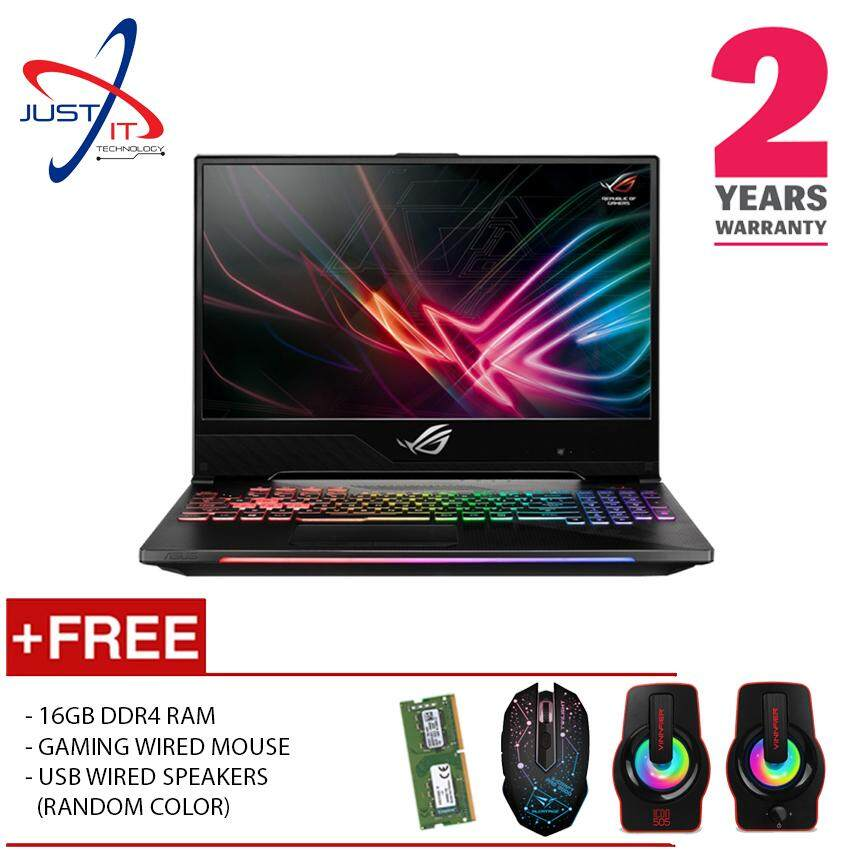 (UPGRADED) ASUS ROG STRIX SCAR II GL704G-VEV028T I7-8750H 32GD4 512GBSSD RTX2060 6GB DDR6 WIN10H - [FREE RAM UPGRADE , GAMING MOUSE & SPEAKER] Malaysia