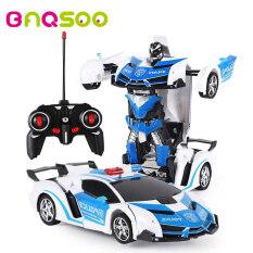 BAQSOO Biến Đổi Xe RC Robot leegoal Đồ Chơi Biến Hình Robot Leo Tường Xe 360 ° Quay Với Một Nút Biến Dạng Chức Năng Và Đèn LED RC xe Ô Tô Đồ Chơi Dành Cho Trẻ Em