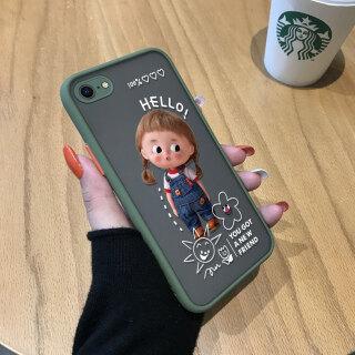 Ốp Honinga Ốp Cho Iphone 6 6S 7 8 Plus SE 2020 Ốp Điện Thoại Cứng Trong Suốt Mờ Đục Cho Bạn Gái Mới Đáng Yêu Dễ Thương Ốp Bảo Vệ Máy Ảnh Toàn Bộ Vỏ Cứng Dành Cho Iphone 6 + 6S + 7 + 8 + thumbnail