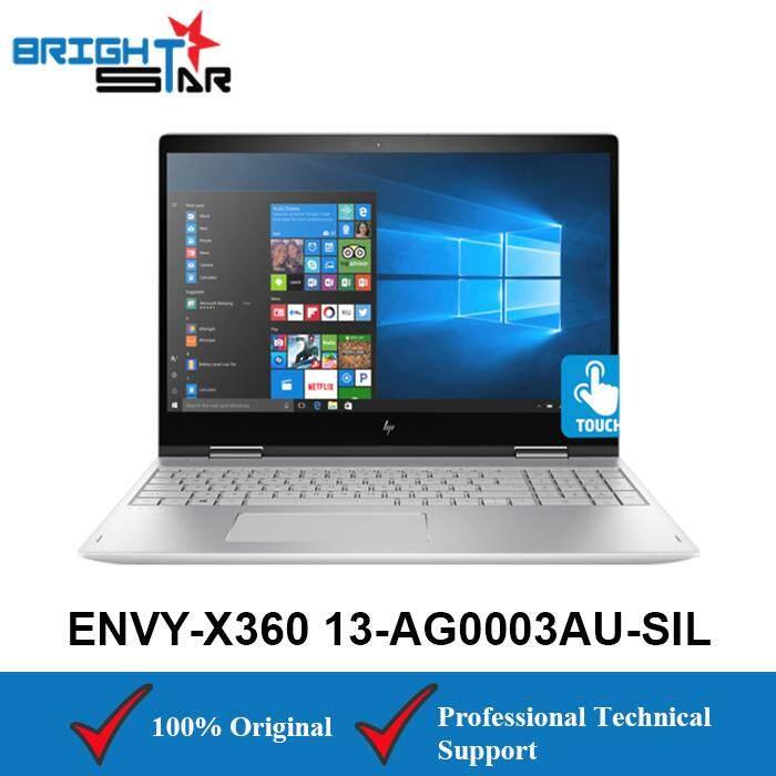 HP ENVY X360 13-AG0003AU Silver (AMD Ryzen 5-2500U/8GB/256GB SSD/AMD VEGA 8 /13.3Inch Touch) Malaysia