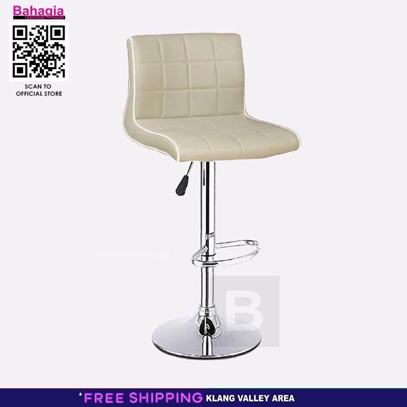 Furniture 2pcs European Bar Stool Lift Rotating Bar Chair Cash Register High Stool Home Beauty Front Back Stool