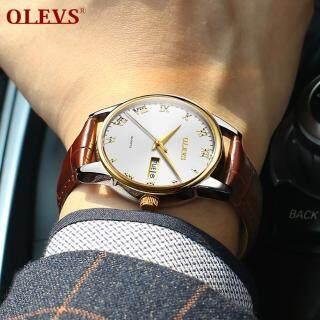 Đồng hồ dây thép không gỉ thương hiệu OLEVS phối màu sang trọng trẻ trung dành cho nữ chống nước thumbnail