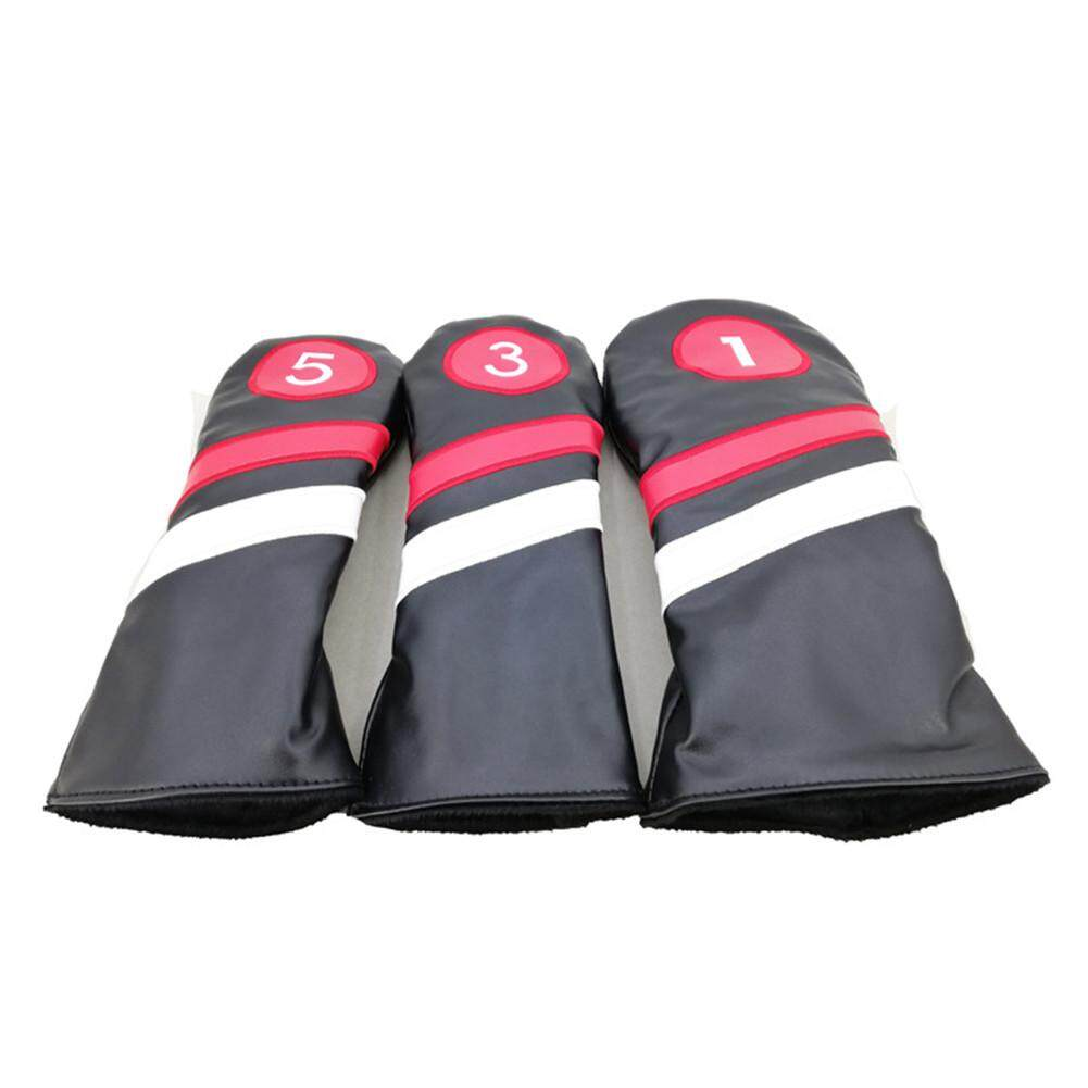 Szwl Outdoor Sport 3pcs Golf Accessories Head Covers Pu Leather 1 3 5 Driver Fairway Head Covers By Szwl Trade.