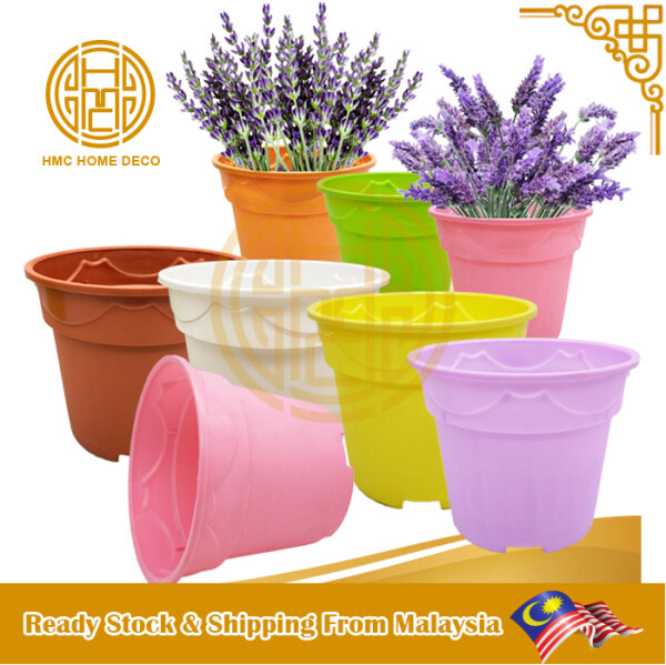 DIAMETER 15 CM PP BREATHABLE FLOWER POT COLOR SELECTION PASU BUNGA GARDENING TOOLS PLANTING DECOR NP150