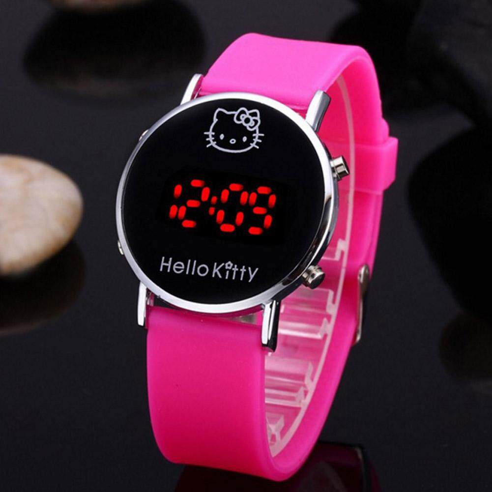 Cute Kids Cartoon Watch LED Electric Watch Jam tangan Malaysia