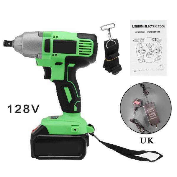 Comforhome 128V 16000mAh Brushless Electric Impact Wrench Cordless Rechargeable Waterproof Drilling Tools