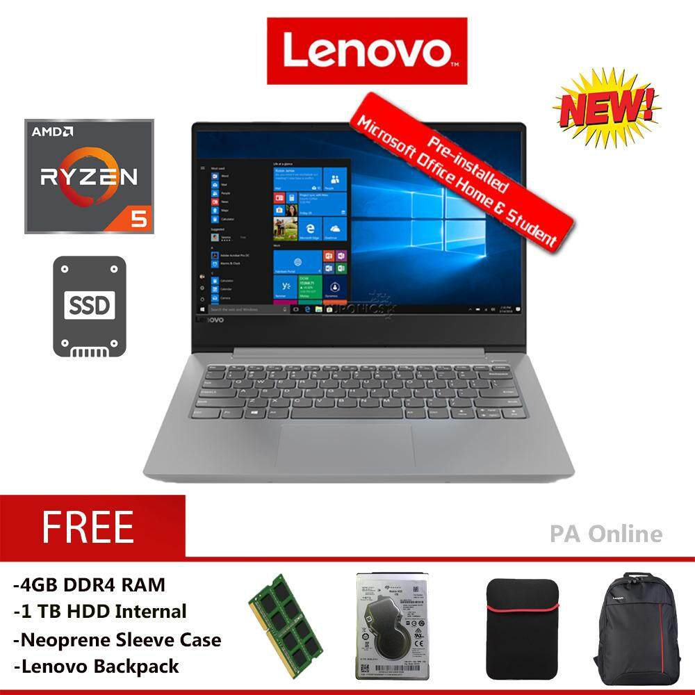 Lenovo Ideapad S340-14API 81NB0081MJ -8GB RAM -AMD Ryzen 5-3500U/8GB/512GB SSD+1TB HDD/14 FHD/ Radeon Vega 8 Graphics/Win 10/2 Years Malaysia